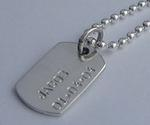 Nat's Dog Tag Necklace