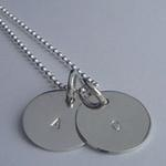 Extra Large Disc Necklace 2