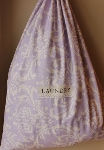 CUSTOMIZED LAUNDRY BAG~LAVENDER DAMASK