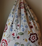 CUSTOMIZED LAUNDRY BAG~WILD FLOWERS