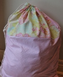 CUSTOMIZABLE LAUNDRY BAG~PRETTY PASTELS