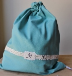 CUSTOMIZED JEWELRY POUCH~TEAL