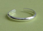 SIMPLE SILVER TOE RING