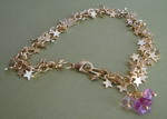 GOLD PLATED STAR CHARM BRACELET