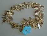BRIGHT LEAVES CHARM BRACELET