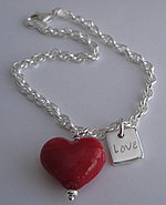 FROM THE HEART CHARM BRACELET