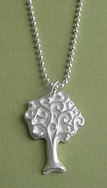 TREE OF LIFE ~ FINE SILVER NECKLACE
