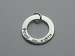 PEACE ON EARTH RING CHARM