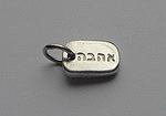 AHAVA~DARLING DOG TAG