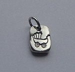 BABY CARRIAGE~DARLING DOG TAG