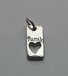 FAMILY~OPEN HEART TAG
