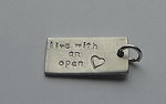 OPEN HEART~RECTANGLE BAR