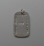 CHAMPION DAD~DOG TAG