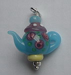 GLASS BEAD~TEAPOT