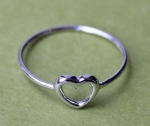 Little Open Heart Ring