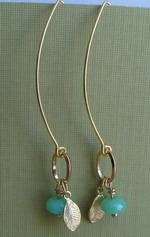 EARLY SPRING GOLD PLATED DANGLES